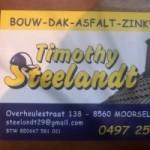 Dakwerken Timothy Steelandt