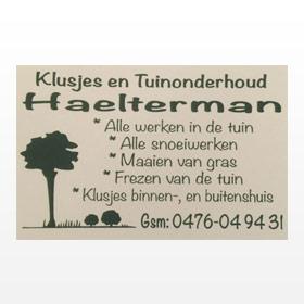 Klusjes en Tuinonderhoud Haelterman