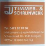 Timmer & schrijnwerk JJ