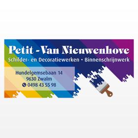 Schilder En Renovatiewerken Petit - Van Nieuwenhove