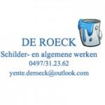Schilder- en algemene werken De Roeck