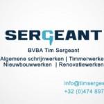 BVBA Tim Sergeant