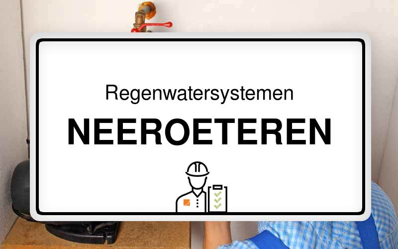 Regenwatersystemen